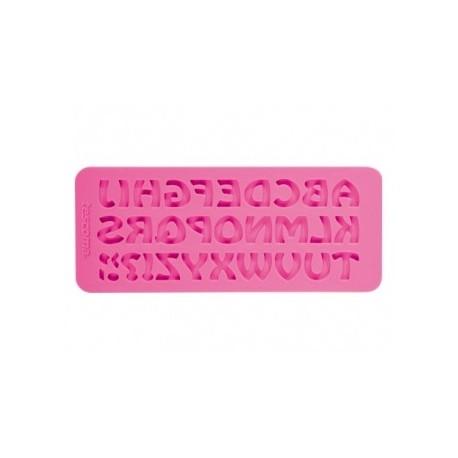 Moldes de silicone DELÍCIA DECO, alfabeto