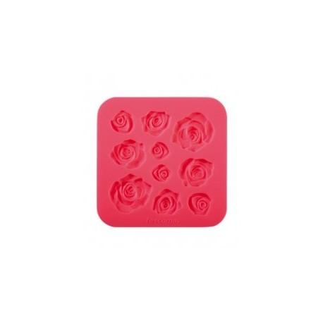 Moldes de silicone rosas
