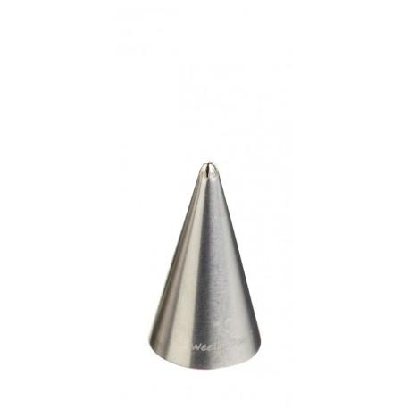 Bico de Decoração em Aço Inox, Estrela, 1mm