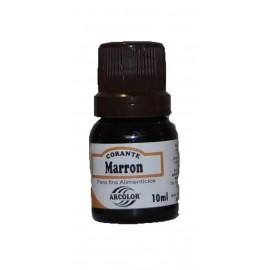 Corante líquido Castanho arcolor 10 ml