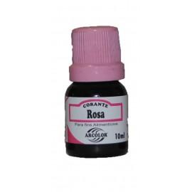 Corante líquido cor de Rosa arcolor 10 ml