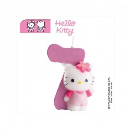 Vela Hello Kitty nº 7