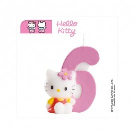 Vela Hello Kitty nº 6