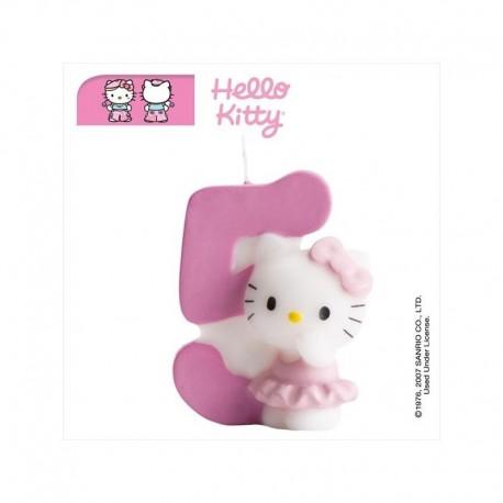 Vela Hello Kitty nº 5