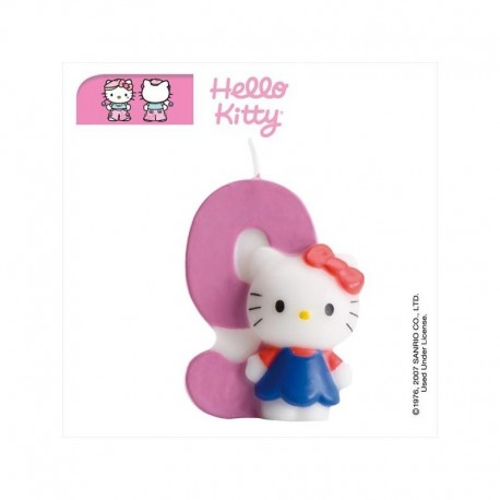 Vela Hello Kitty nº 9