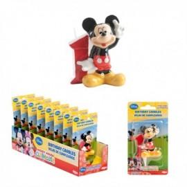 Vela Mickey Nº1 5cm