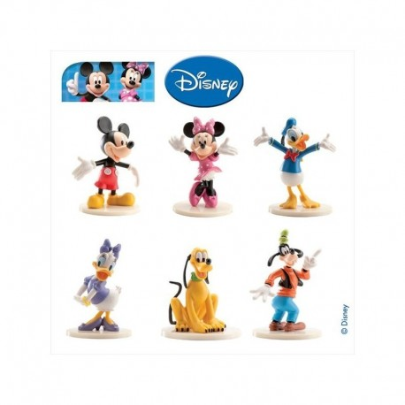 Mickey PVC com base 9 cm
