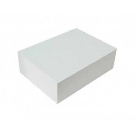Caixa cartolina branca 45,5x35,5 cm