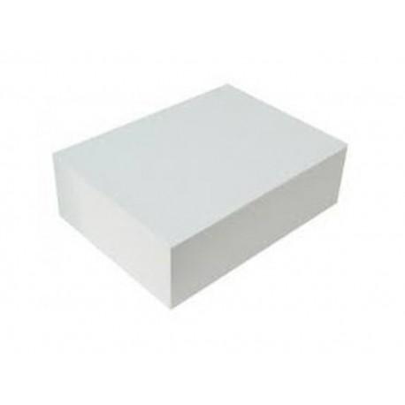 Caixa cartolina branca 52x42x11 cm