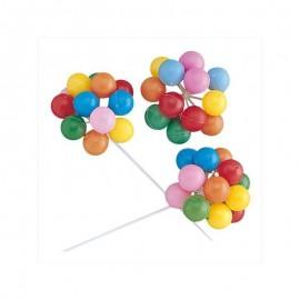 Balões PVC coloridos decoração Dekora