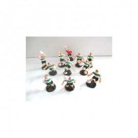 Jogadores futebol Verde e Brancos