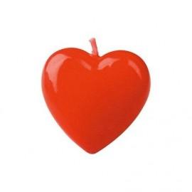 Vela coração 4 cm