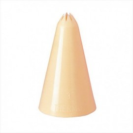 Boquilha frizada 17 mm (bico)