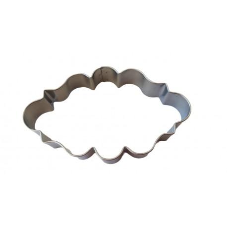 Cortante metal placa 11,5 cm