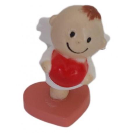 Anjinho com coração 5 cm