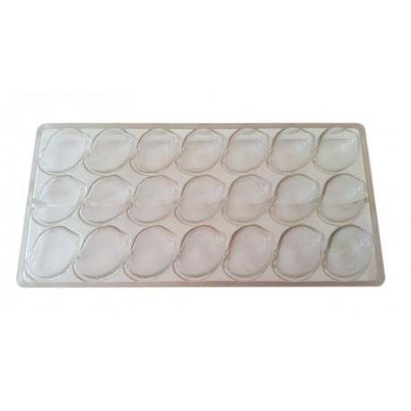 Molde policarbonato bombons - buzio