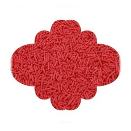 Granulado vermecelli vermelho 200 gr.