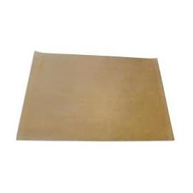 Folha de papel siliconizado 75x45 cms castanho