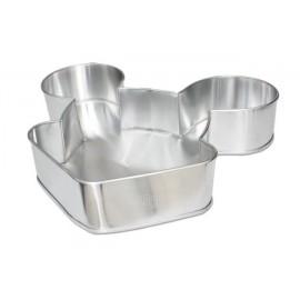 Forma alumínio Rato - Mickey - Minnie