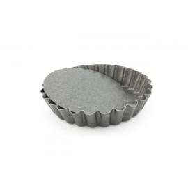 Forma tartlete fundo amovivel antiaderente 10x2 cm