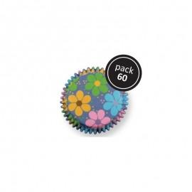 Petifur cupcake PME flores 60 unid.