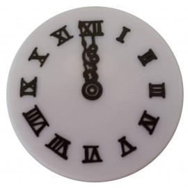 Relógio plástico meia noite diametro 87mm