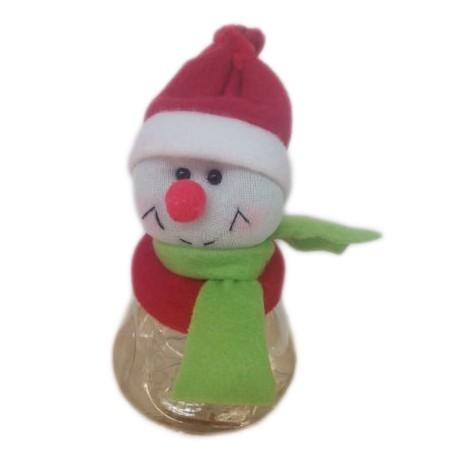 Frasco boneco de neve