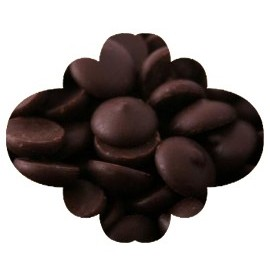 Pastilha chocolate negro caribe 750 gr.