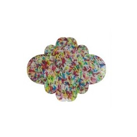 Granulado vermecelli colorido 100 gr.