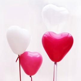 Balão em forma de coração