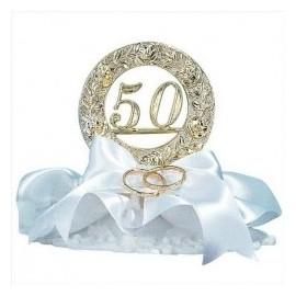 Decoração 50 anos casados dekora boda