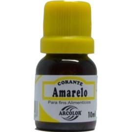 Corante líquido Amarelo arcolor 10 ml