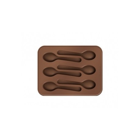 Forma p/ chocolate - colheres