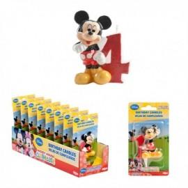 Vela Mickey Nº4 5cm
