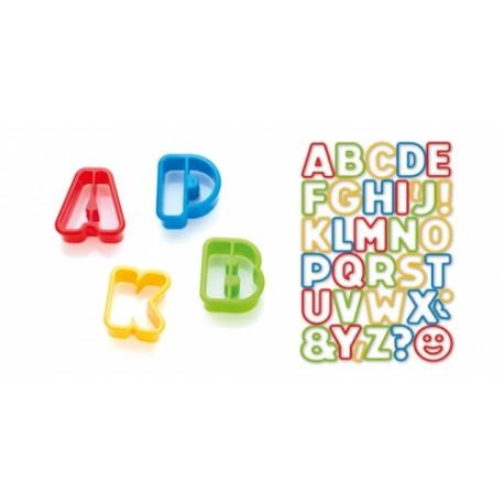 Corta massas alfabeto DELÍCIA KIDS