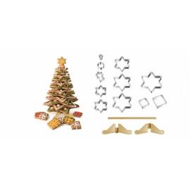 Árvore de Natal DELÍCIA, conjunto de corta massas