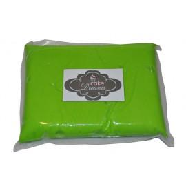 Pasta de açúcar Verde Claro 1 kg sabor tradicional
