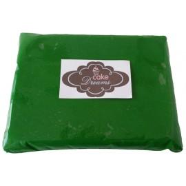 Pasta de açúcar Verde 1 kg sabor tradicional