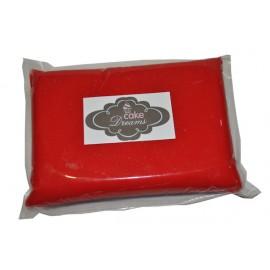 Pasta de açúcar Vermelha 1 kg sabor tradicional