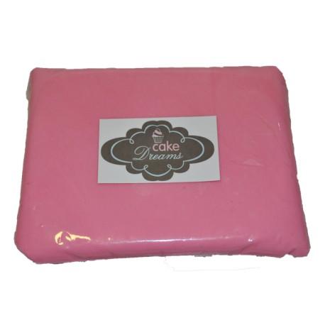 Pasta de açúcar Rosa 1 kg tradicional
