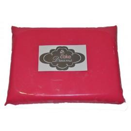 Pasta de açúcar Rosa Choque 1 kg sabor tradicional