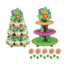 Expositor cupcakes motivo Selva Wilton