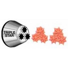 Bico de decoração estrela tripla Wilton