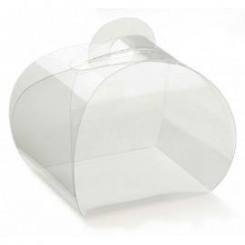 Caixa PVC Transparente Tortina 9x9x8 cm