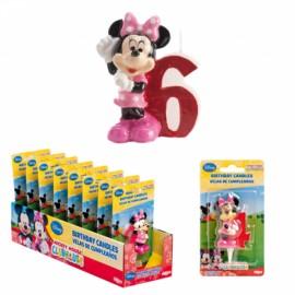 Vela Minnie Nº6 5cm