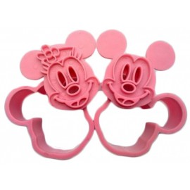 Cortante marcador Mickey - Minnie