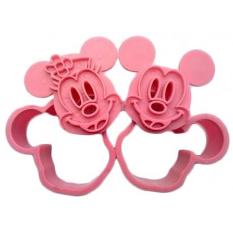 Cortante marcador Mickey - Minnie