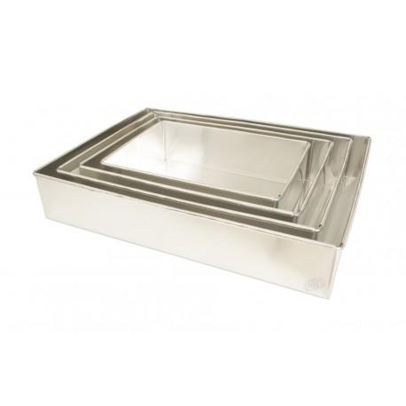 Forma alumínio rectangular 45x33x7 cm
