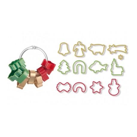 Corta massas de Natal 13 peças