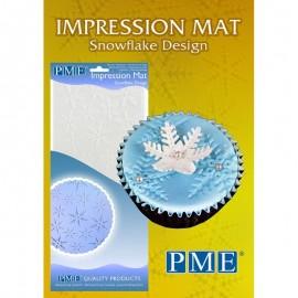 Stencil-Marcador-Tela de Impressão Floco de neve PME